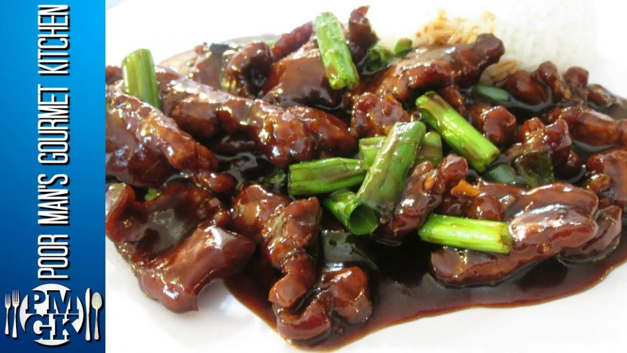 Mongolian Beef - Chinese Restaurant Cooking Secrets - PoorMansGourmet