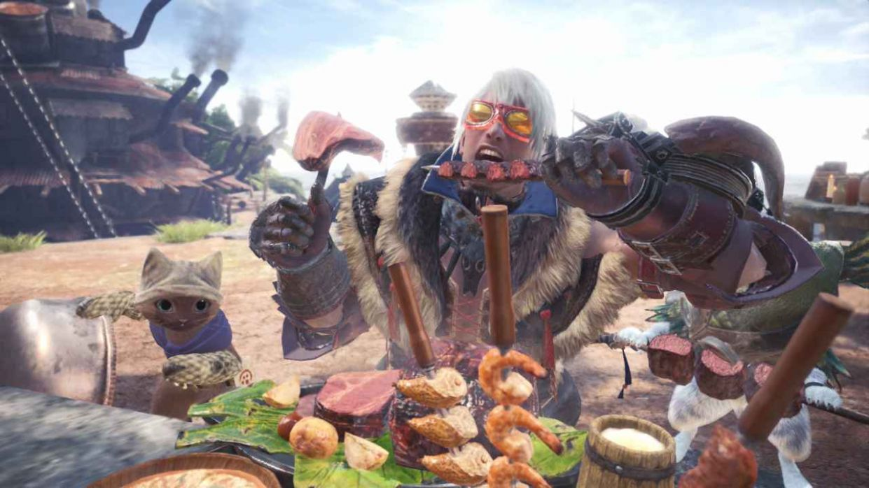 Monster Hunter World: How to Upgrade Canteen - Food Recipes Mhw