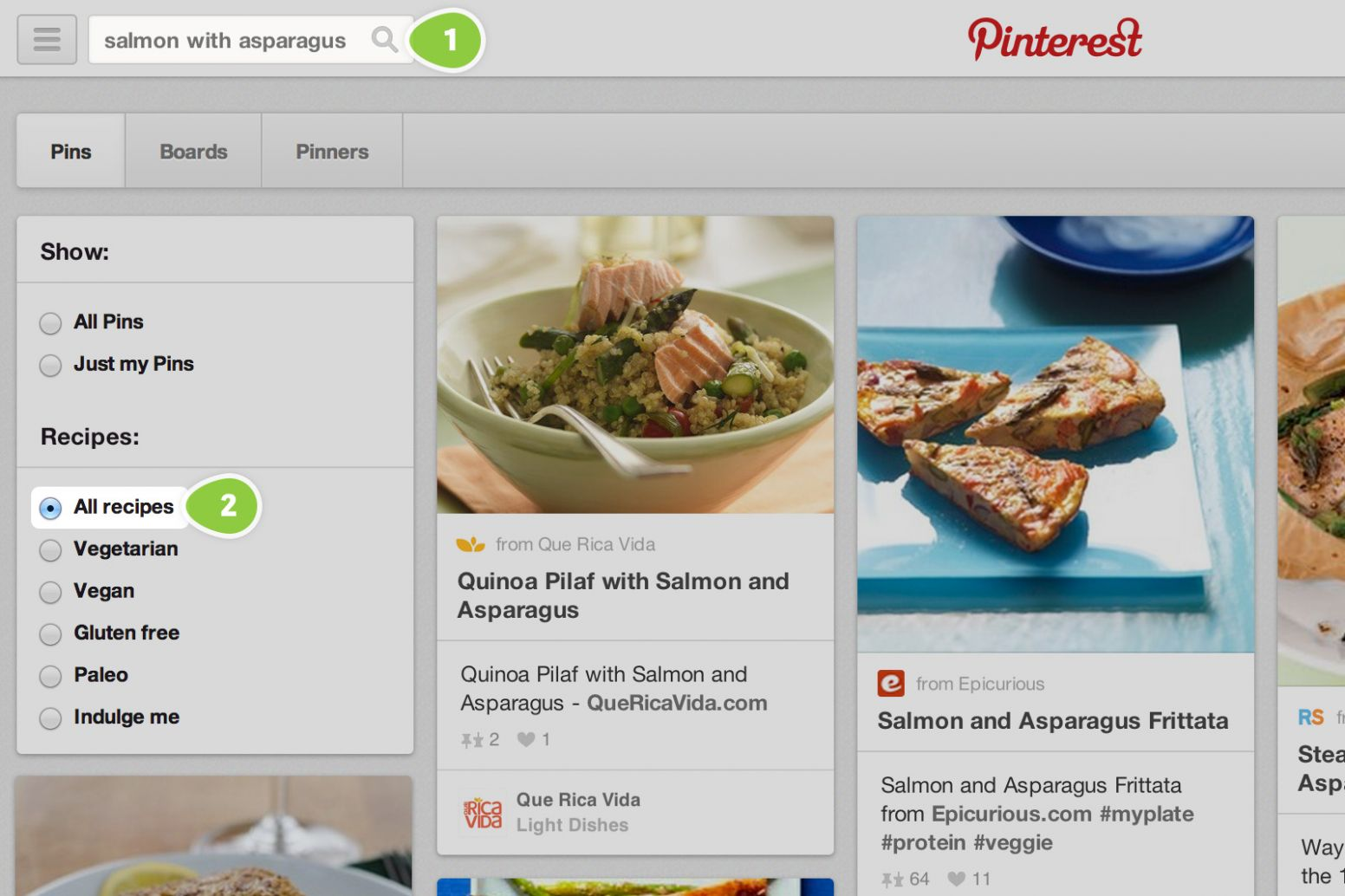 More ways to search for recipes | Pinterest Newsroom - Food Recipes Pinterest