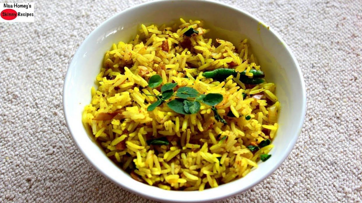 Moringa Rice Recipe - Healthy Lunch Ideas - Drumstick Leaves Rice ..