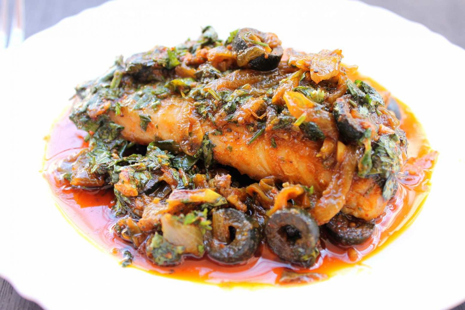 Moroccan Baked Fish Recipe - Recipes Fish Dishes