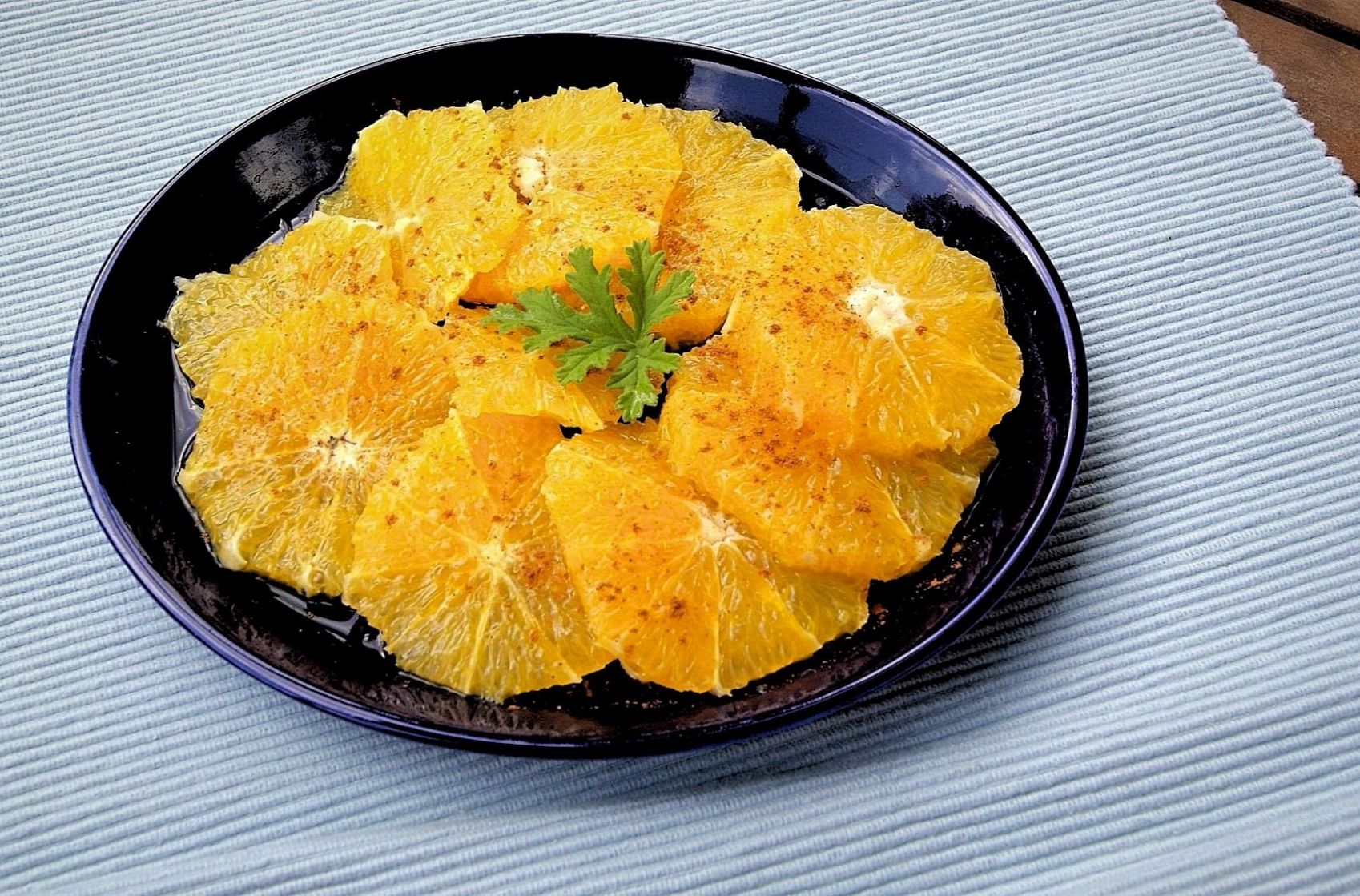 Moroccan Oranges with Cinnamon and Orange Flower Water - Recipes Oranges Dessert