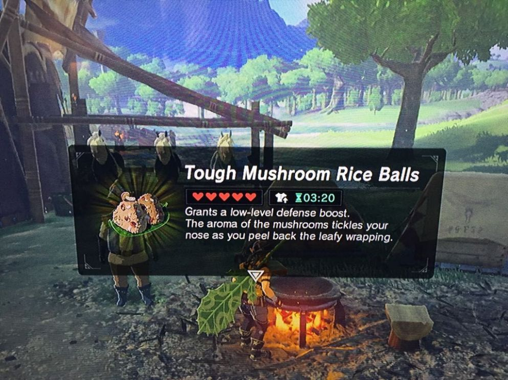 Mouth watering vegan options in The Legend Of Zelda - Breath Of ..