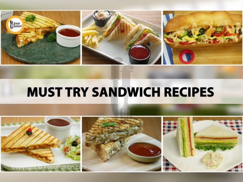 Must try Sandwich Recipes – Food Fusion - Sandwich Recipes By Food Fusion