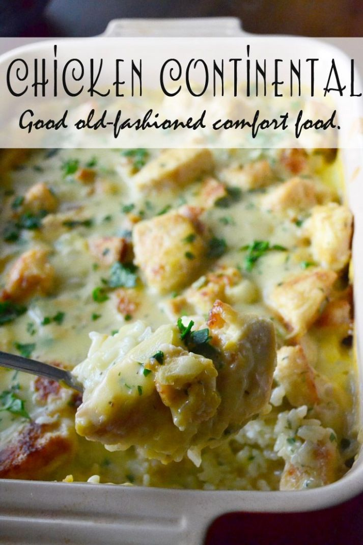 My Favorite Chicken Continental | Food recipes, Chicken recipes ...