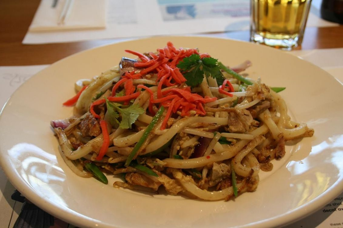 My favorite from Wagamama in Boston :) | Ginger chicken, Chicken udon