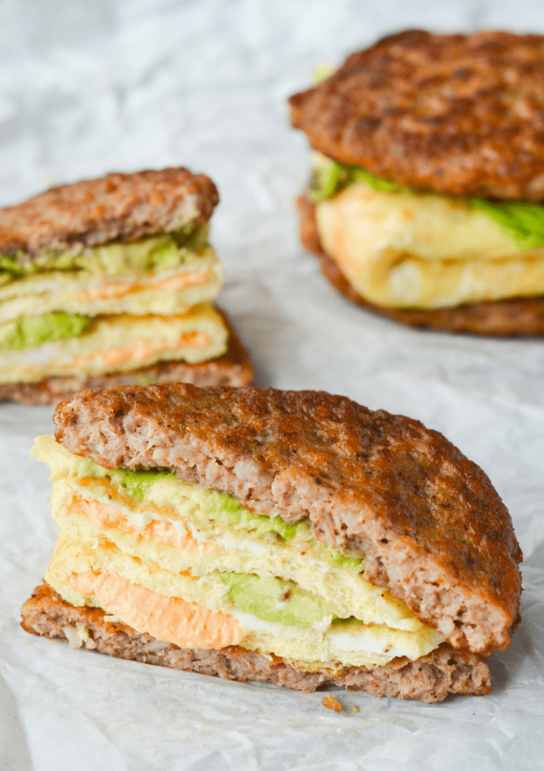 My Favorite Keto Breakfast Sandwich - Breakfast Recipes On Keto