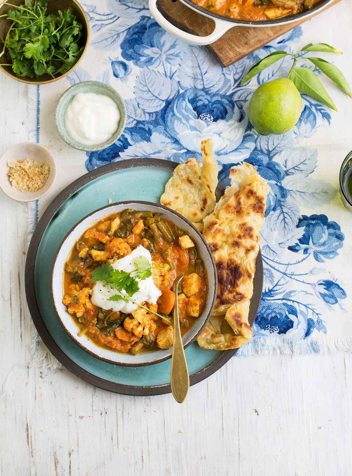 my healthier veggie loaded butter chicken curry | Indian food ..