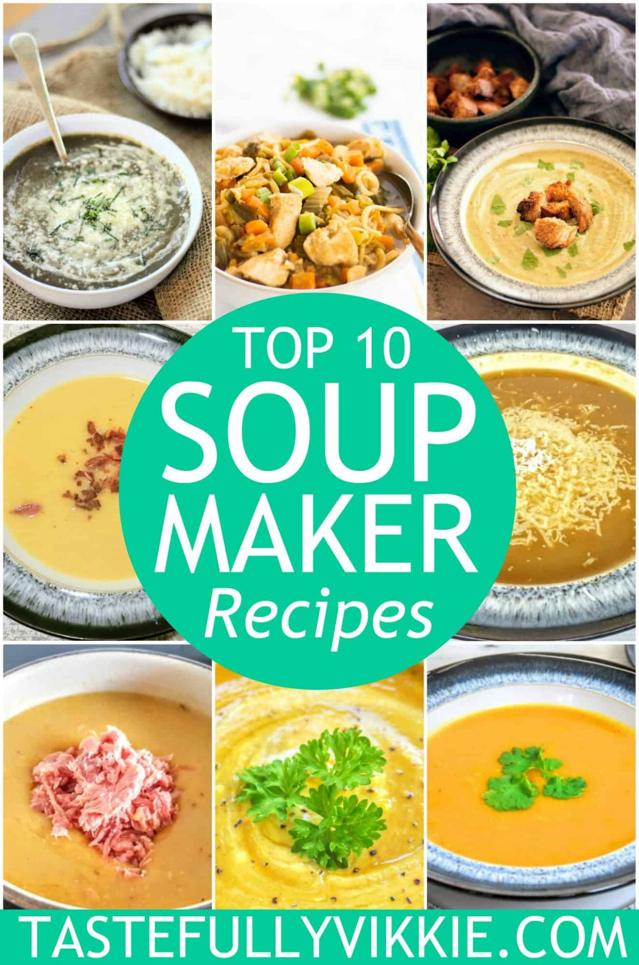 My Top 9 Most Popular Soup Maker Recipes - Tastefully Vikkie