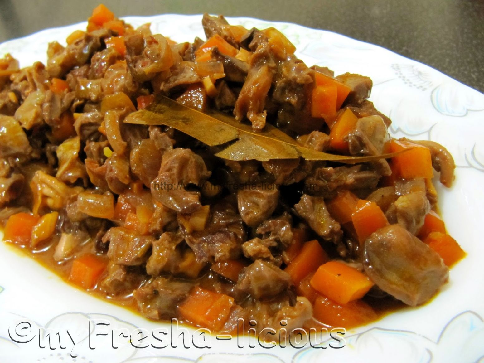 myFresha-licious: Bopis : Chicken Gizzard and Heart - Recipes Chicken Hearts And Gizzards