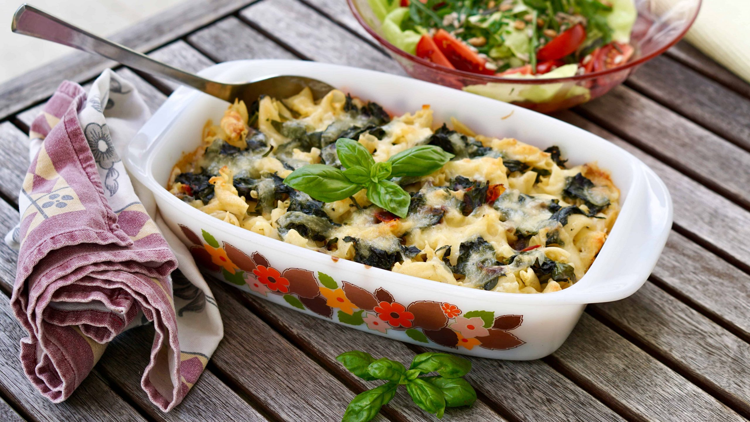 """New Zealand Spinach Gratin – Vegetarian Dish from """"Middle Earth"""""""