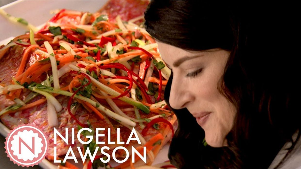 Nigella Lawson's Grilled Red Mullet Salad | Forever Summer With Nigella