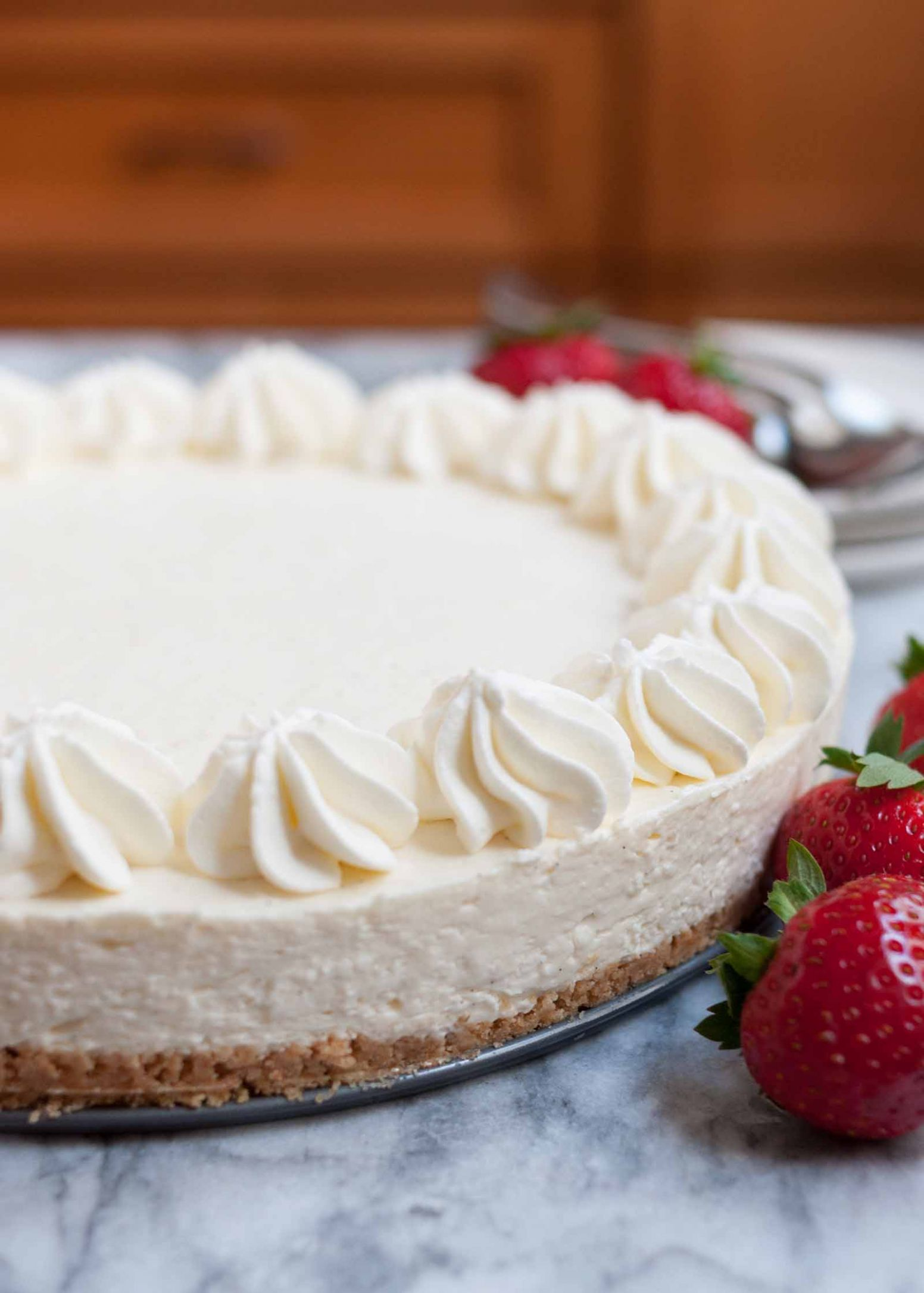 No-Bake Cheesecake - Simple Recipes Cheesecake