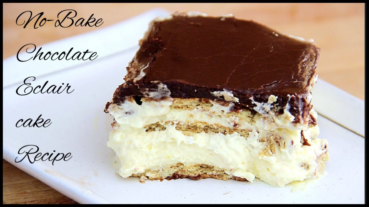 No Bake Chocolate Eclair Cake Recipe - Recipe Chocolate Eclair Cake