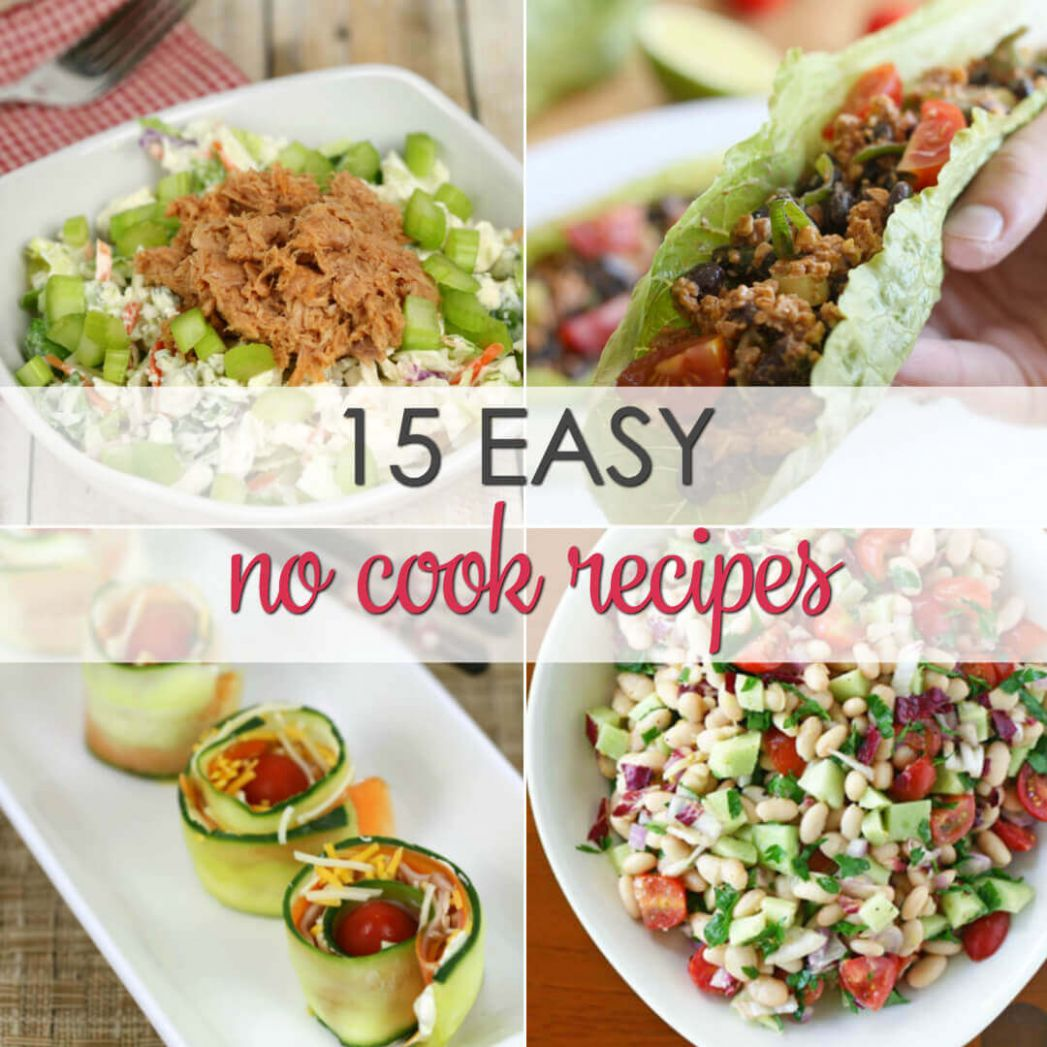 No Cook Dinner Recipes | It Is a Keeper