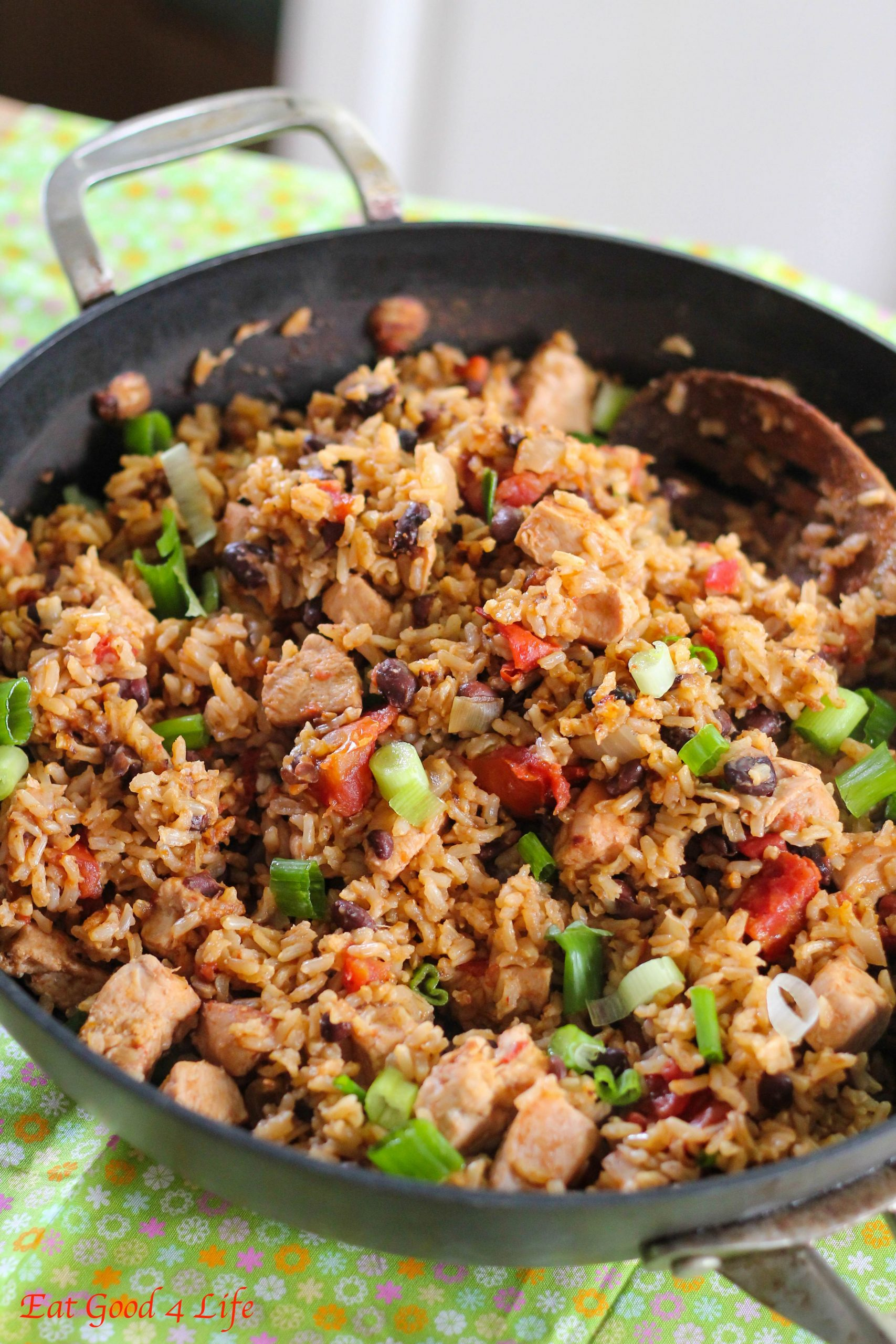 No-fuss black beans, chicken and rice - Recipes Rice Beans