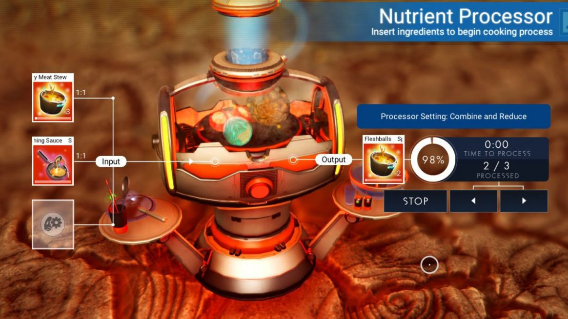 No Man's Sky Cooking Recipes | PC Gamer