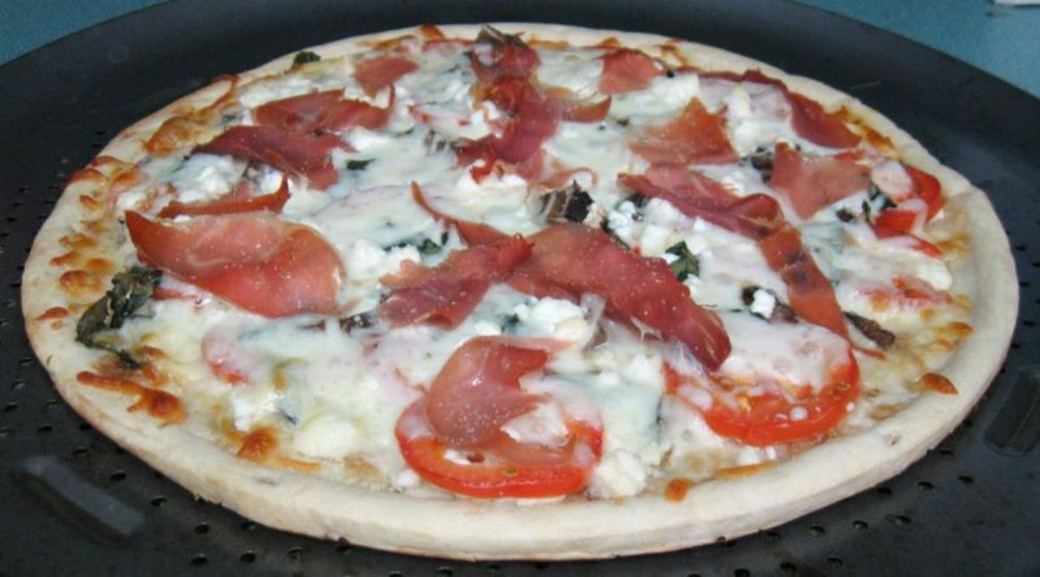 No Sauce Prosciutto Pizza - Pizza Recipes No Sauce
