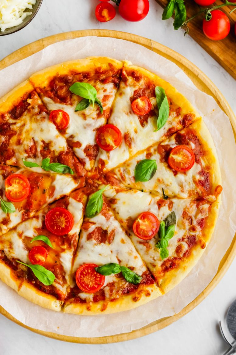 No Yeast Pizza Dough - Easy Peasy Meals - Recipes Pizza Base Without Yeast