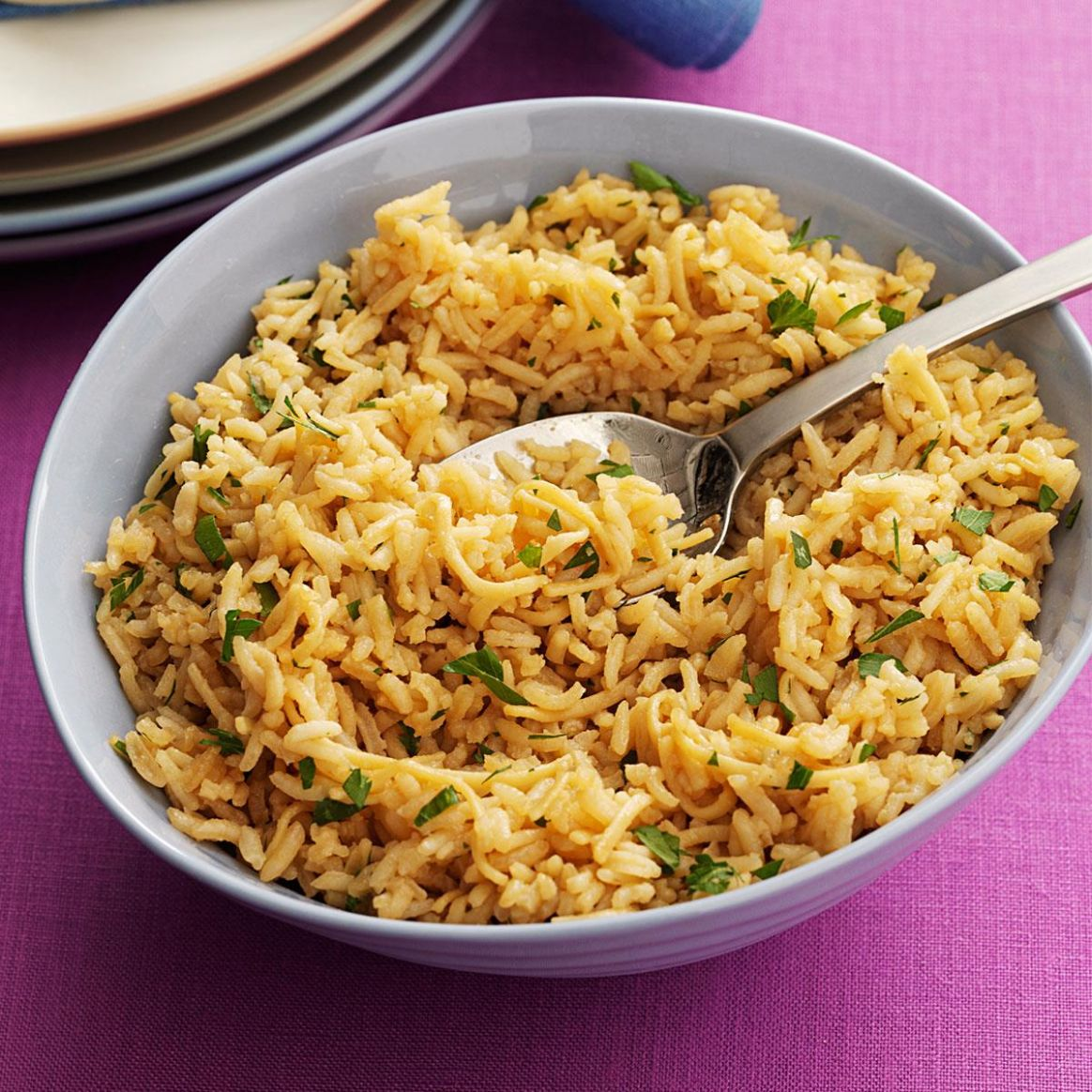 Noodle Rice Pilaf - Recipes Rice Side Dish