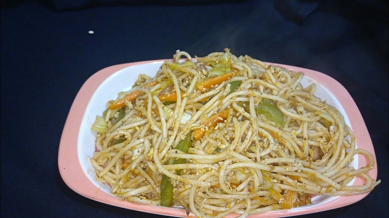 noodles recipe in kannada/how to make noodles at home/hakka noodles recipe/ - Pasta Recipes Kannada