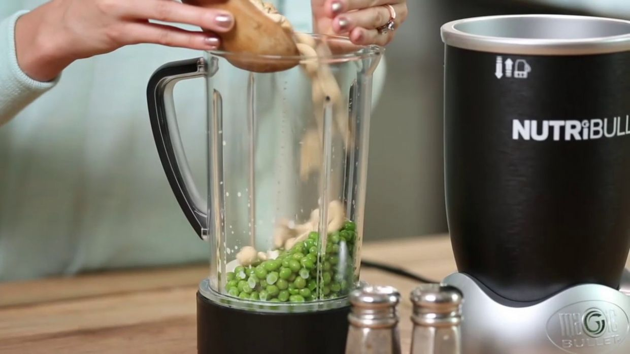 NutriBullet Green Pea Soup Recipe