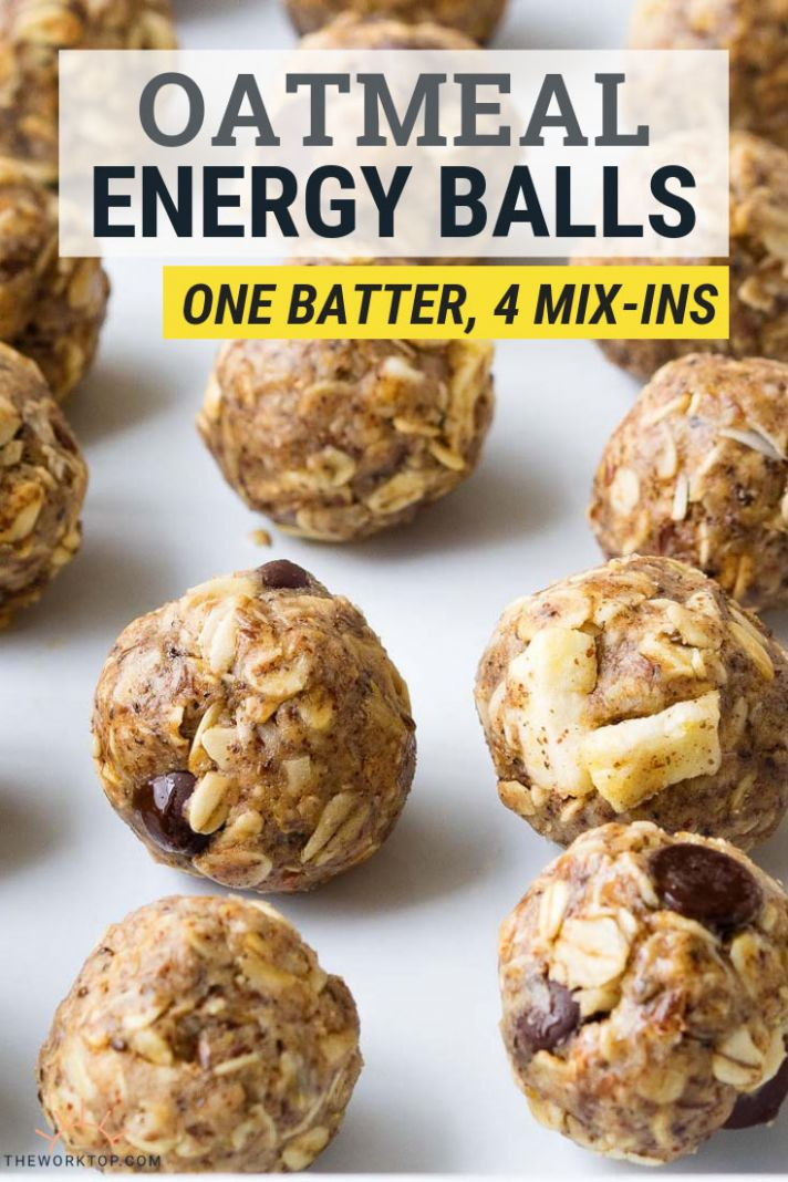 Oatmeal Energy Balls - Breakfast Recipes Using Oats