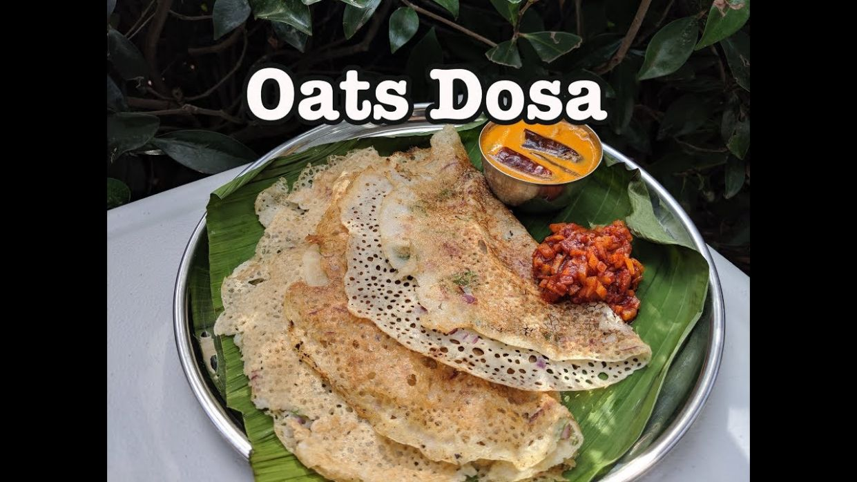 Oats Dosa Recipe In Malayalam || Instant Crispy Oats Dosa ...