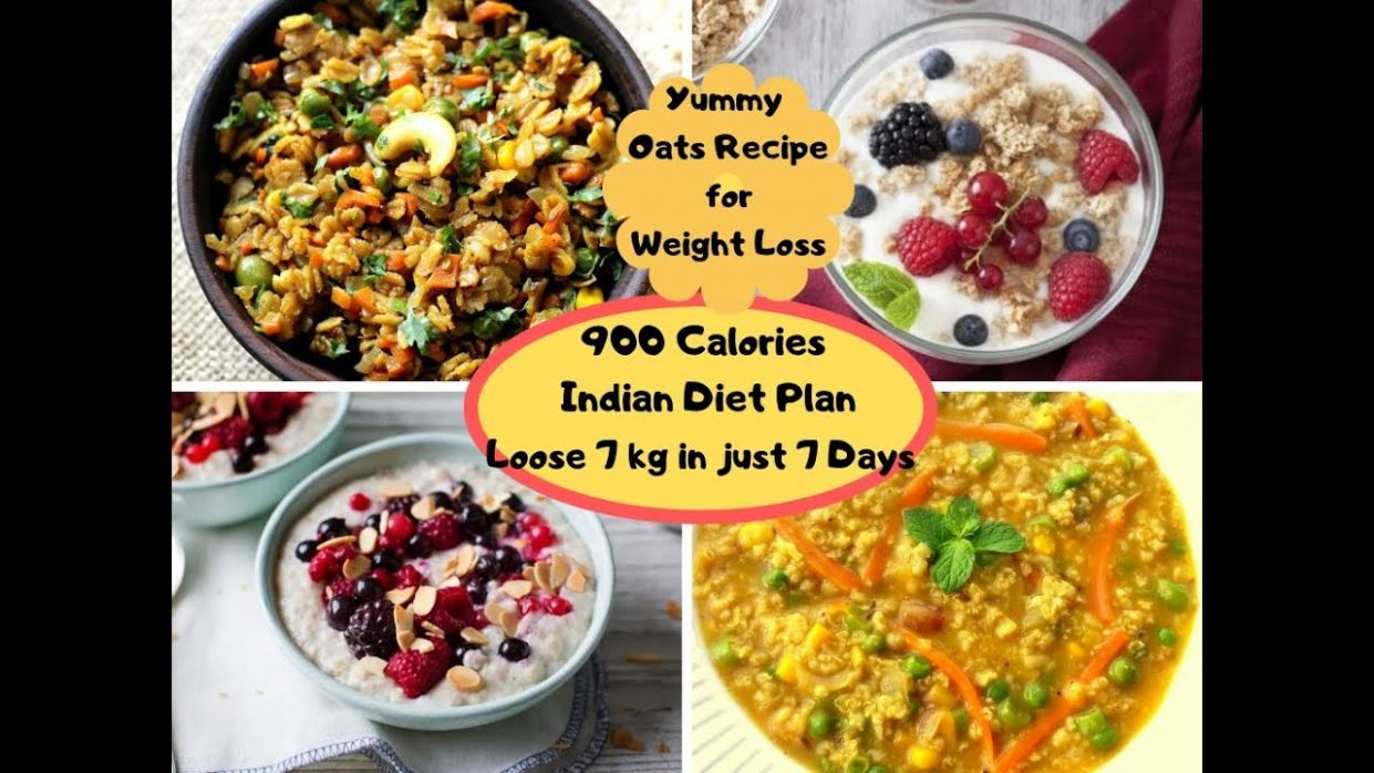 Oats Recipe for Weight Loss|9 Calories Indian Diet Plan|Loose weight 9 kg  in just 9 days|Yummy