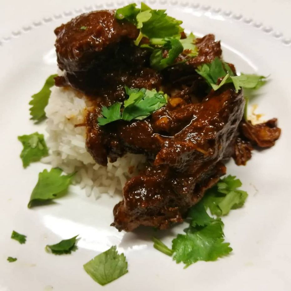 Olive This! - Recipe: Chocolate Balsamic Chicken Mole
