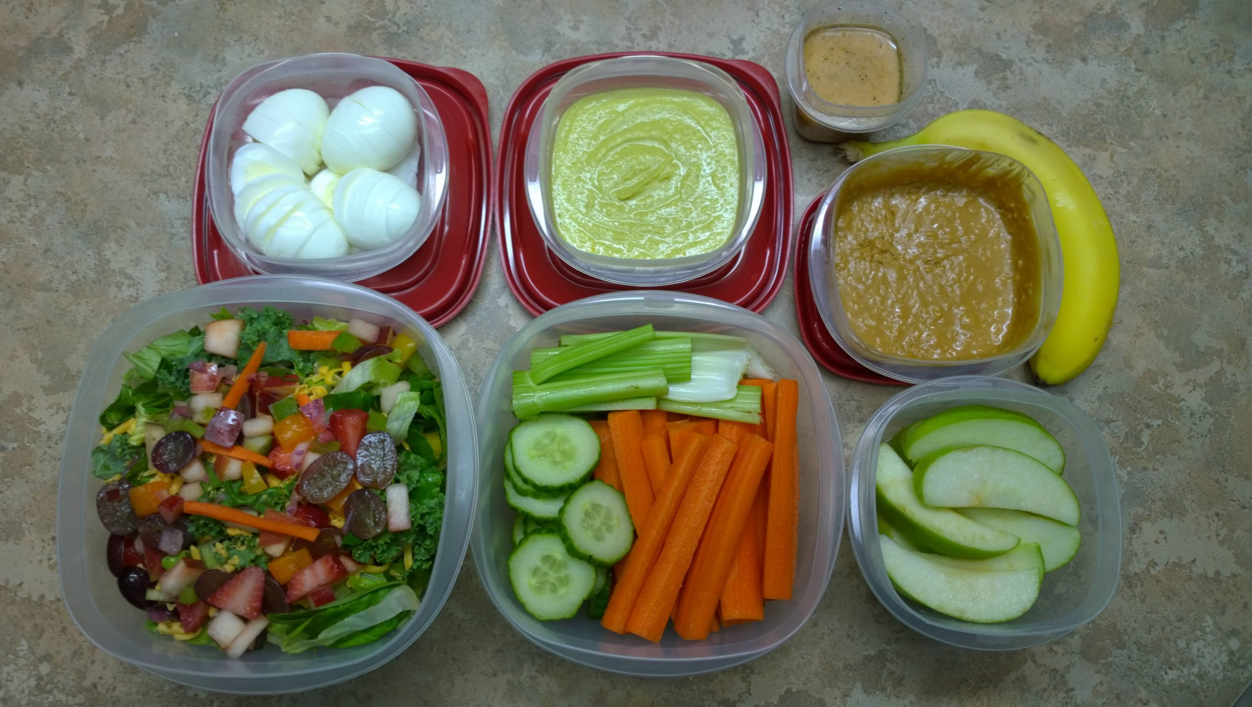 One of my favorite healthy lunches! (Killer hummus recipe in ..