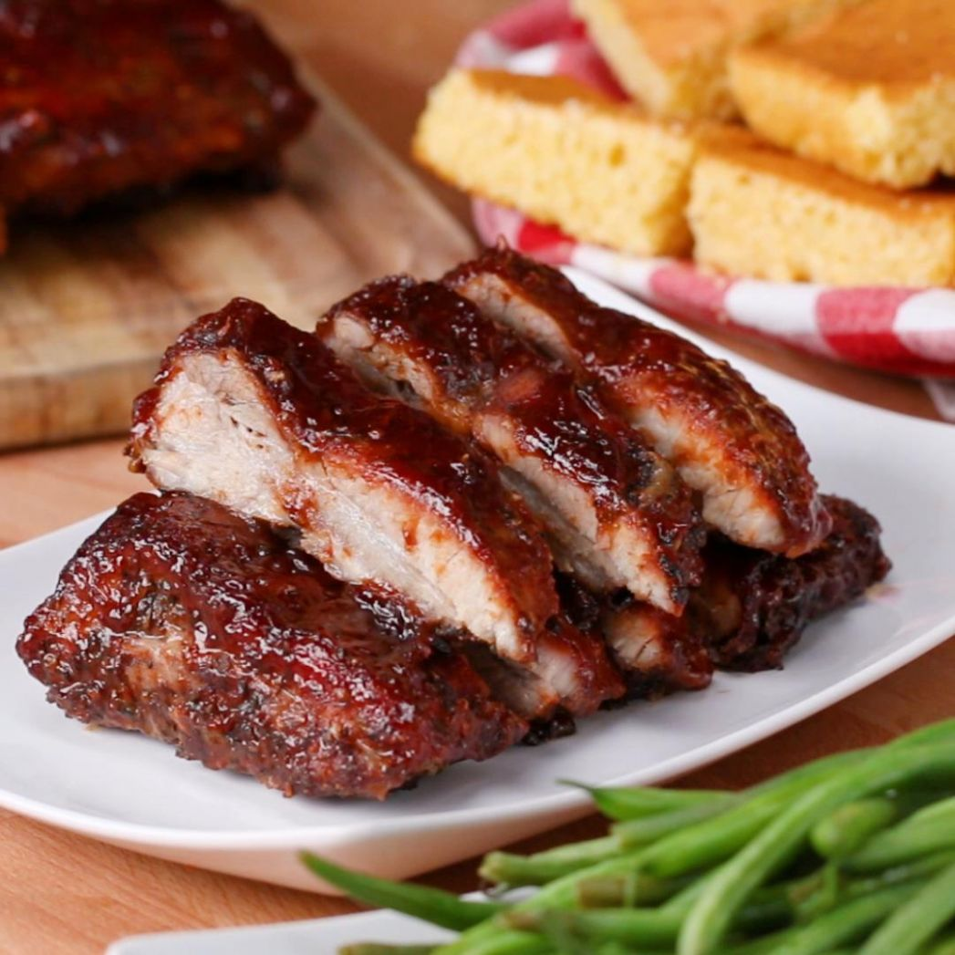 One-Pan BBQ Baby Back Ribs Recipe by Tasty - Recipes Pork Back Ribs