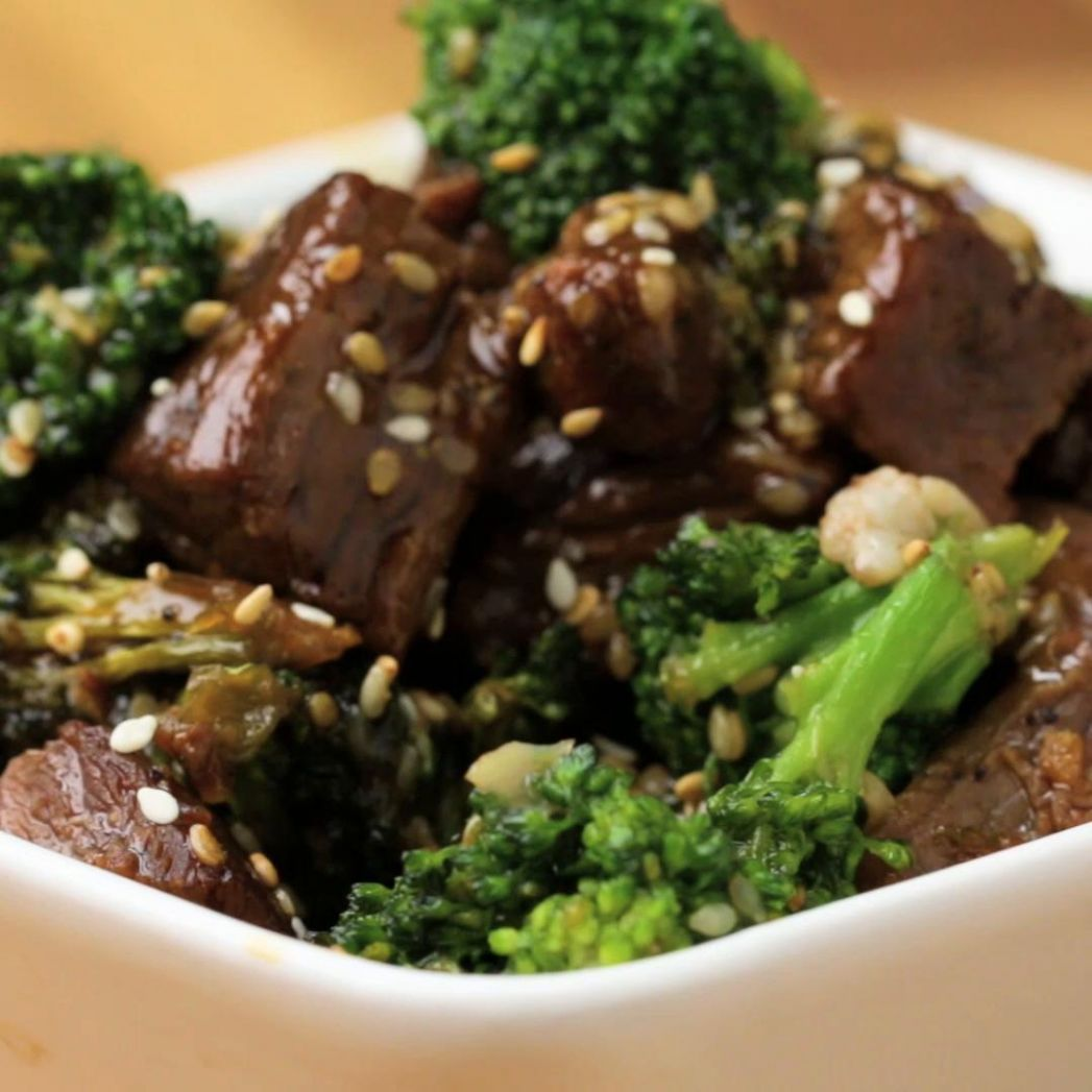 One-Pan Beef And Broccoli Stir-fry Recipe by Tasty