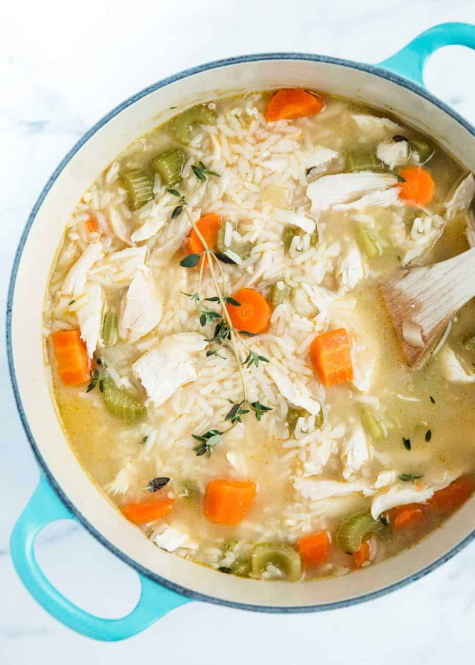 One-Pot Chicken and Rice Soup - I Heart Naptime