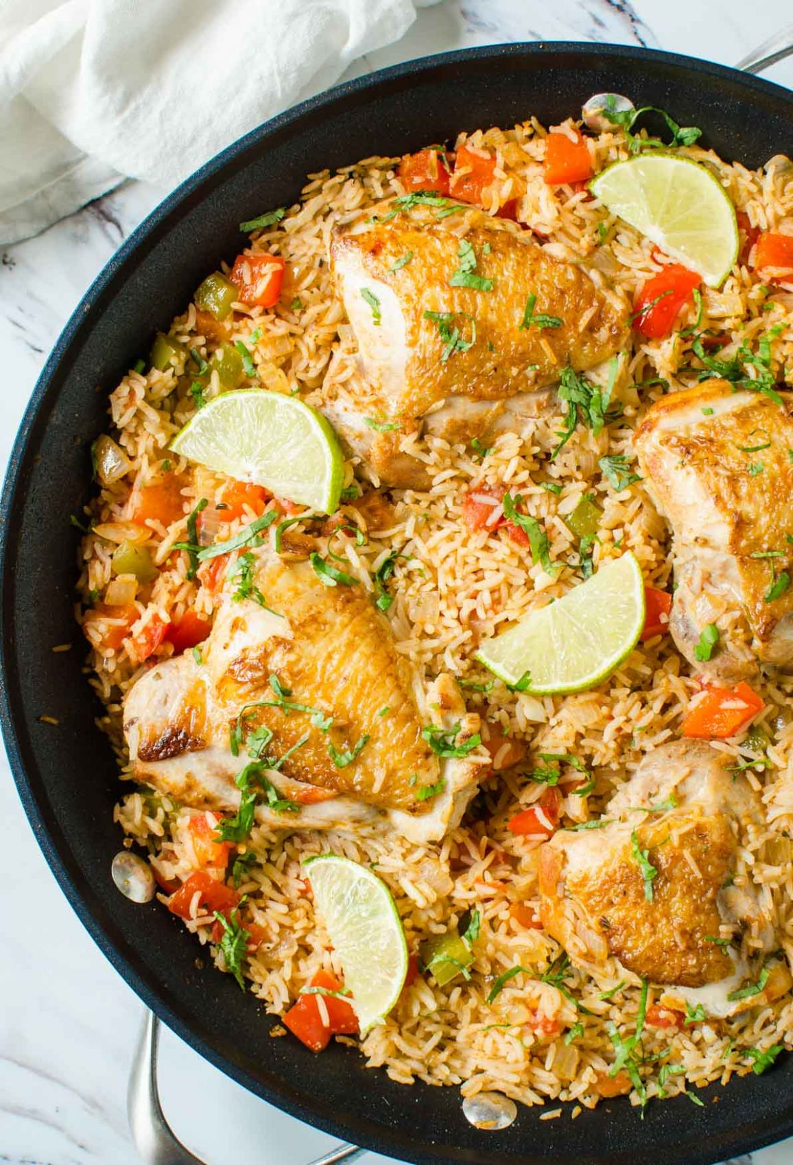 One Pot Healthy Mexican Chicken Rice - Dinner Recipes Rice And Chicken
