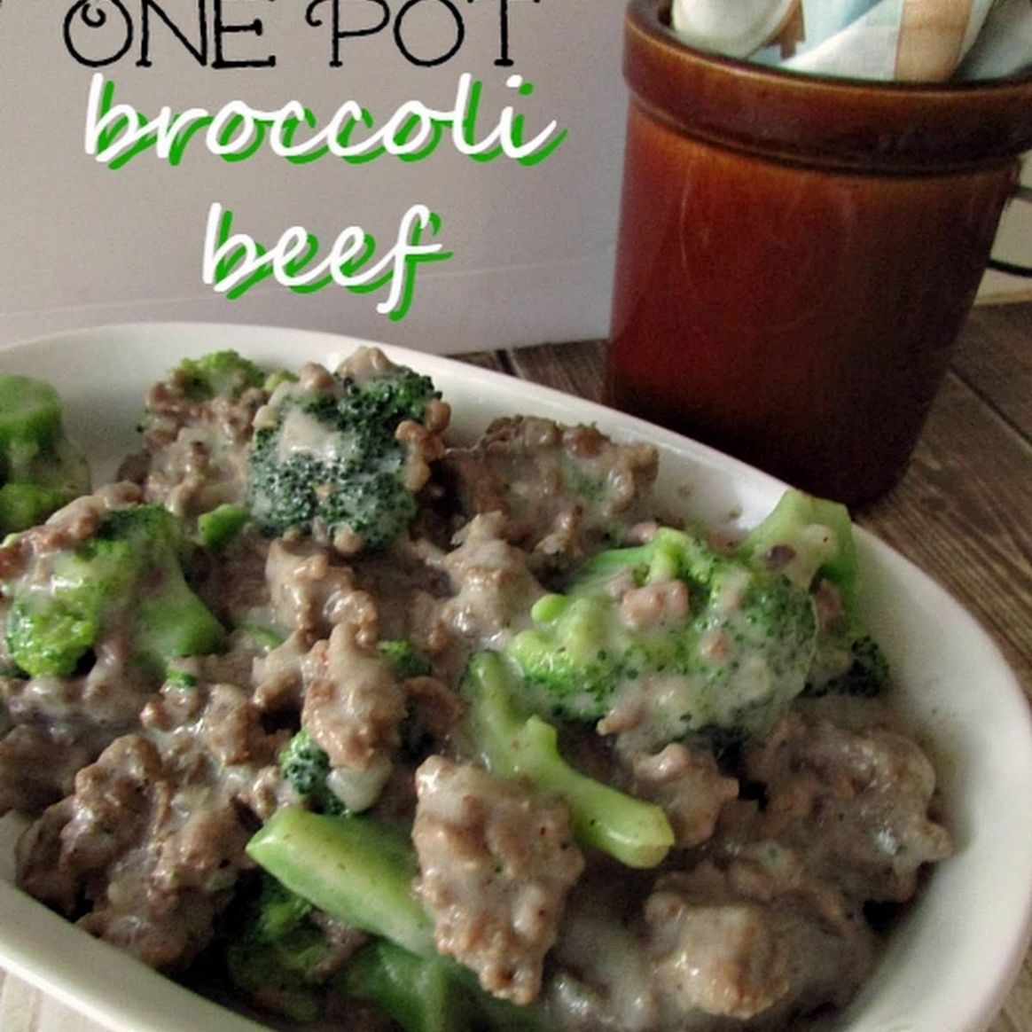 One Pot Low Carb Beef Broccoli