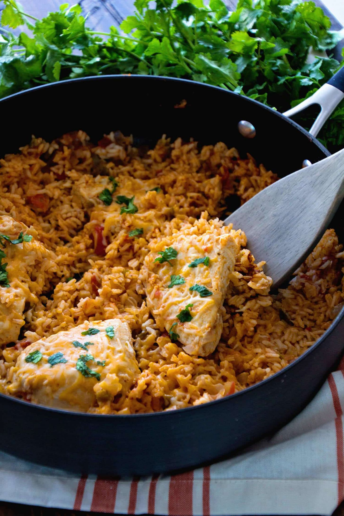 One Pot Mexican Chicken and Rice - Rice Recipes Main Dish