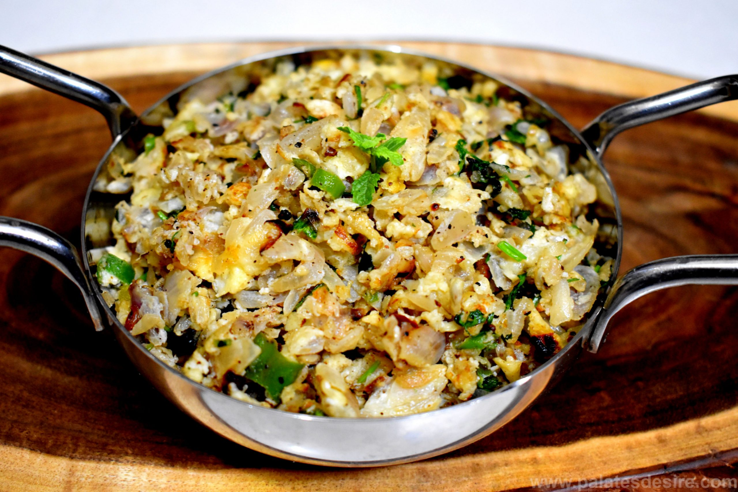 Onion Egg Bhurji - Recipe Egg Onion