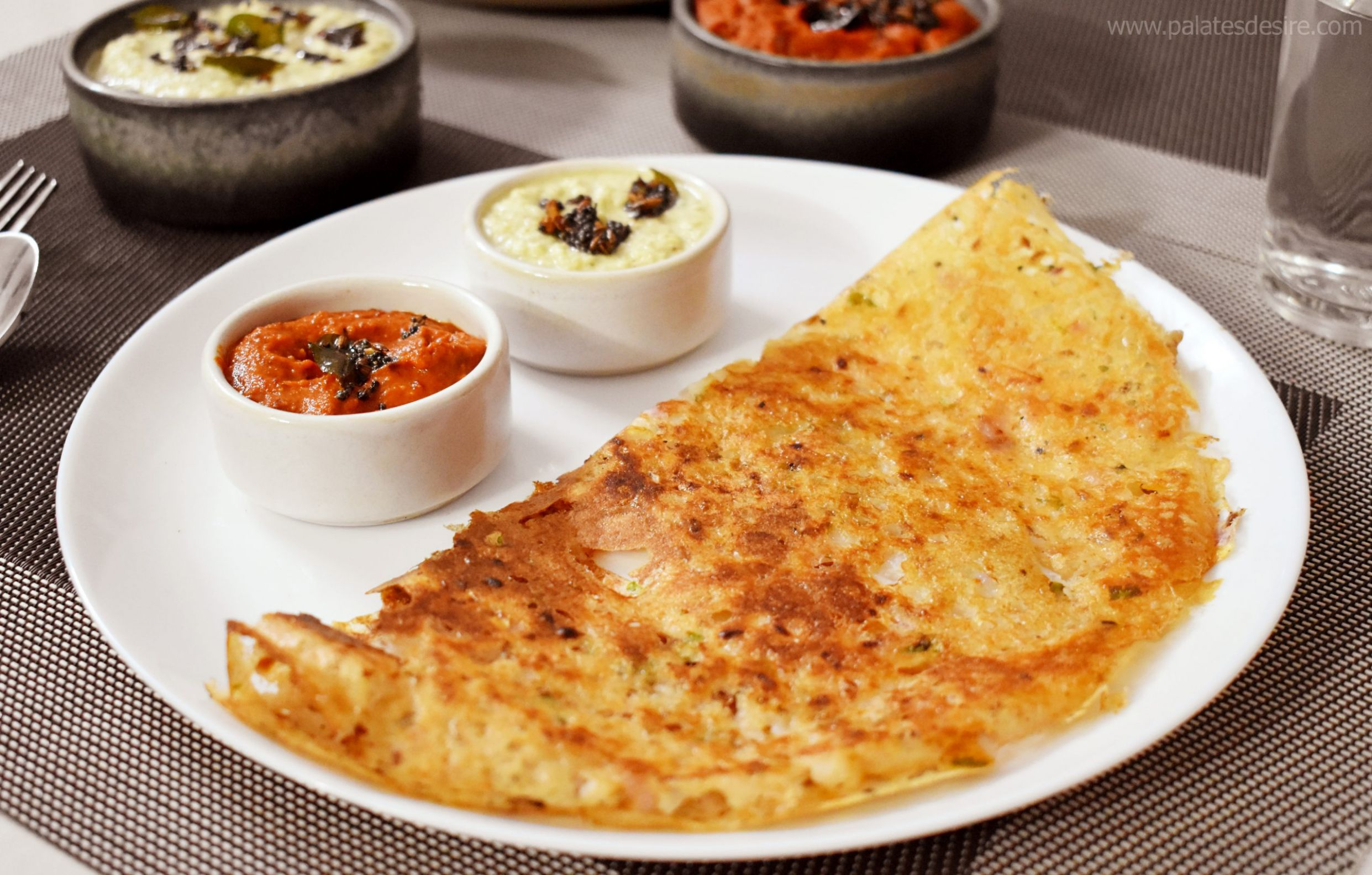 Onion Rava Dosa Recipe - Breakfast Recipes Rava Dosa