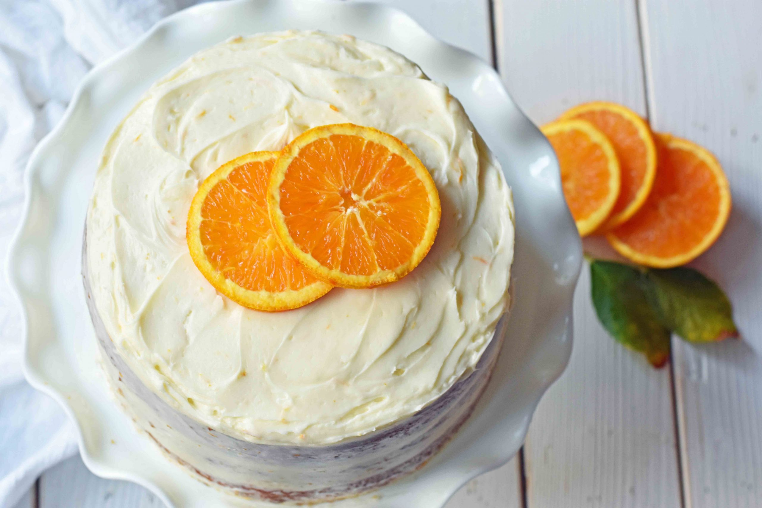 Orange Cake - Recipes Orange Cake