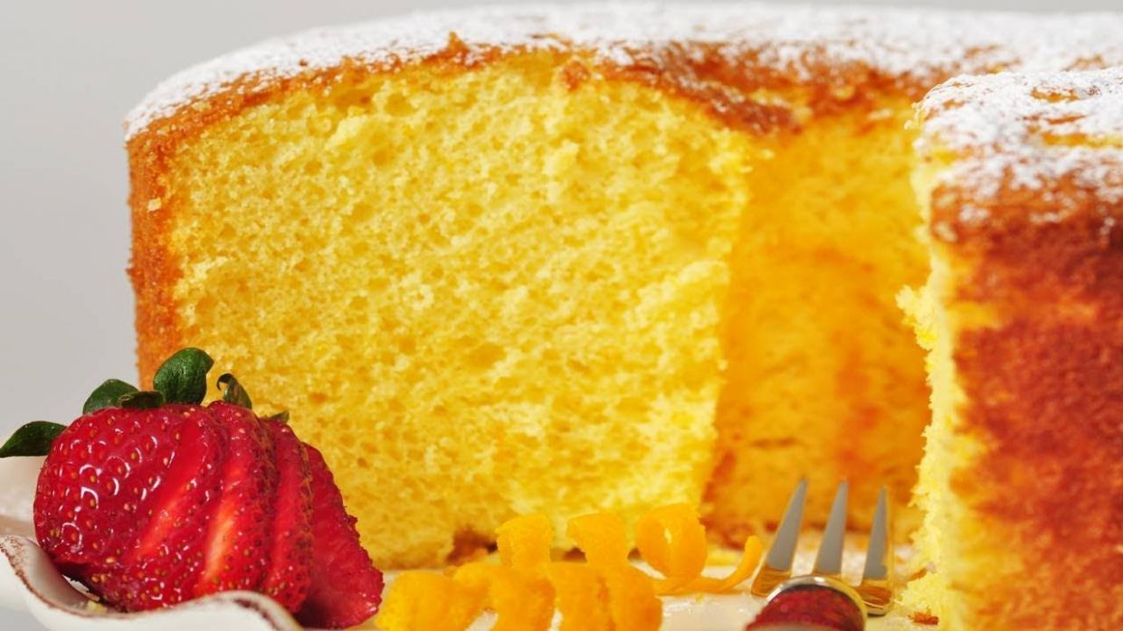 Orange Chiffon Cake (Classic Version) - Joyofbaking