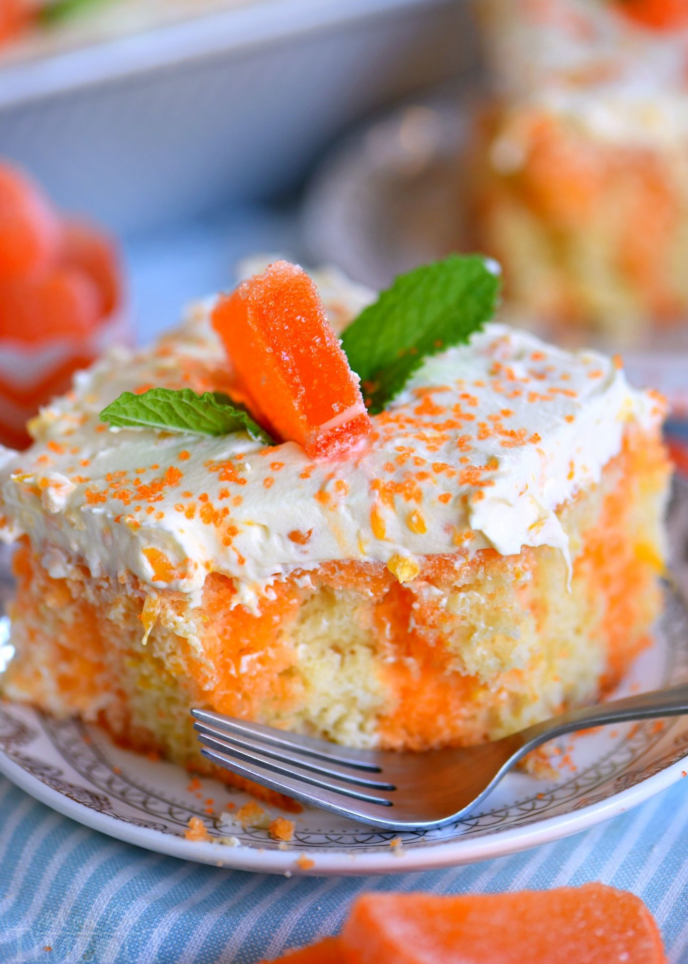 Orange Creamsicle Cake - Recipes Orange Cake