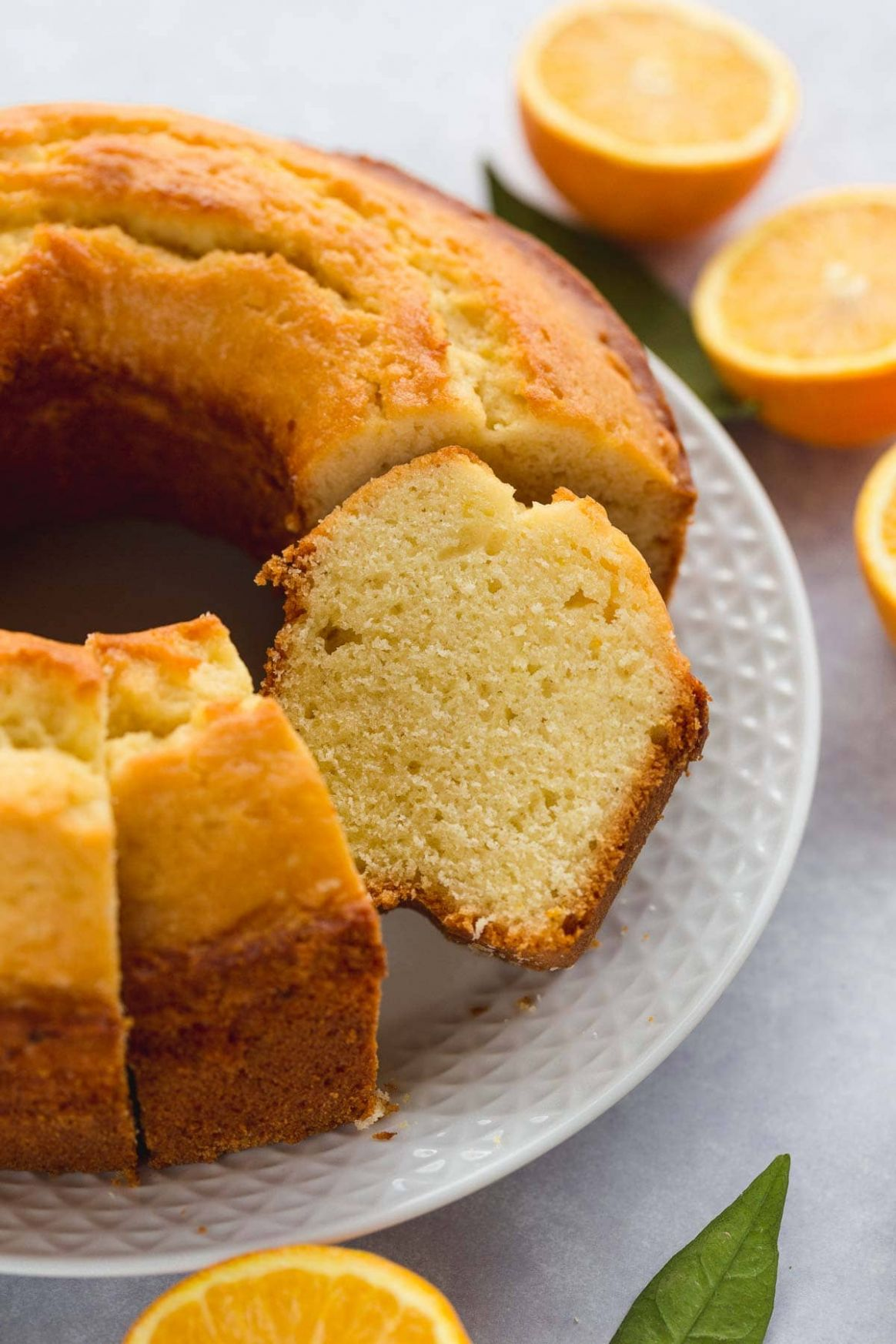Orange Juice Cake - Recipes Orange Cake