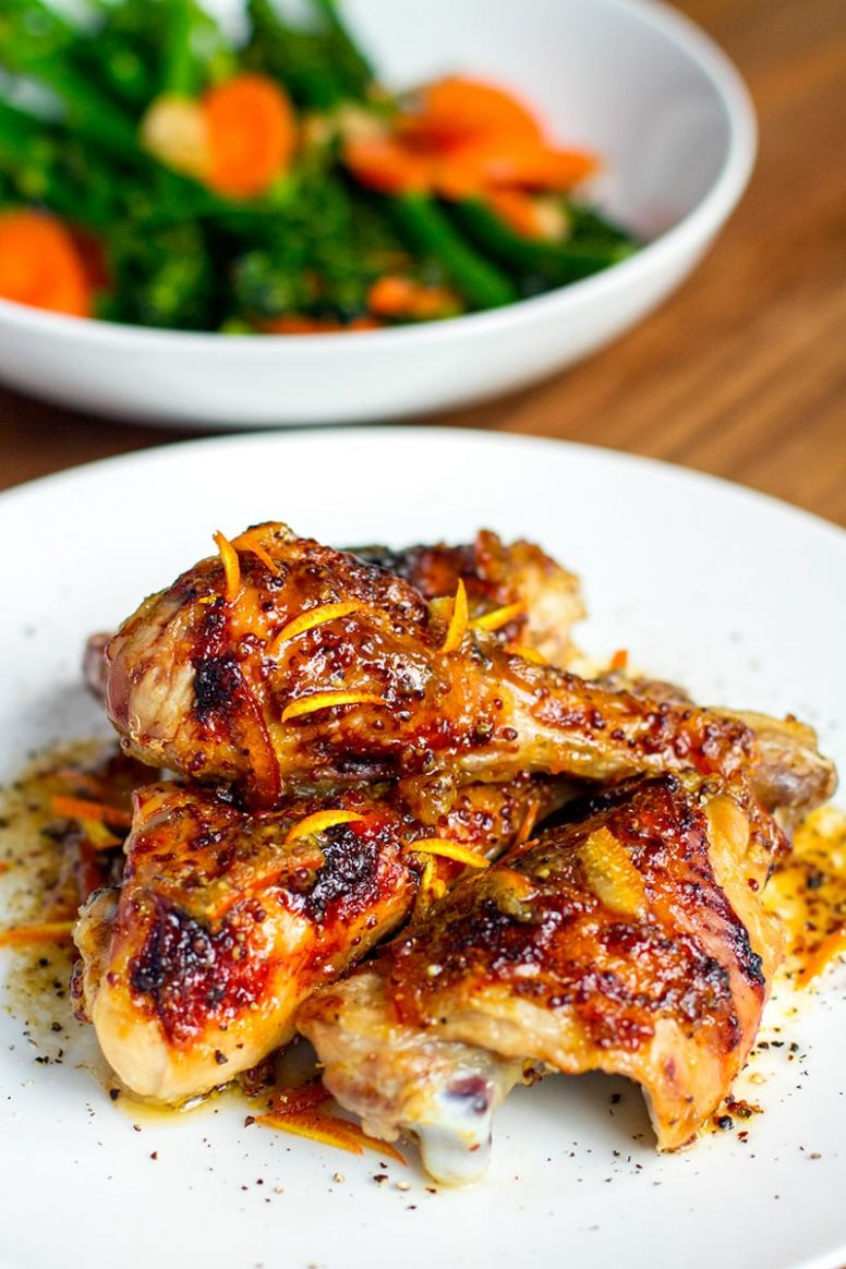 Orange Marmalade Chicken - Irena Macri | Food Fit For Life - Recipe Chicken Breast Orange Marmalade
