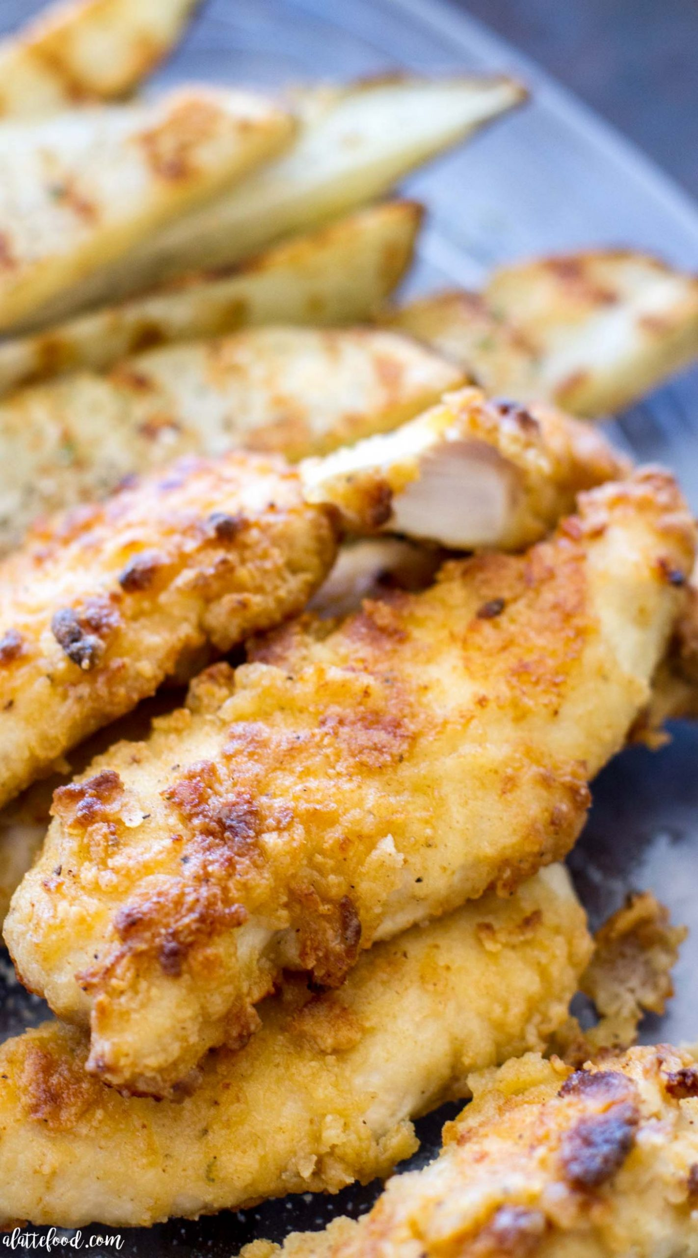 Oven-Baked Ranch Chicken Tenders - Chicken Breast Ranch Recipes