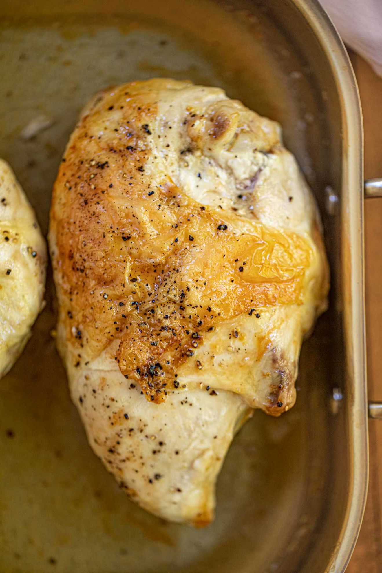 Oven Baked Split Chicken Breasts (Bone-In) - Dinner, then Dessert