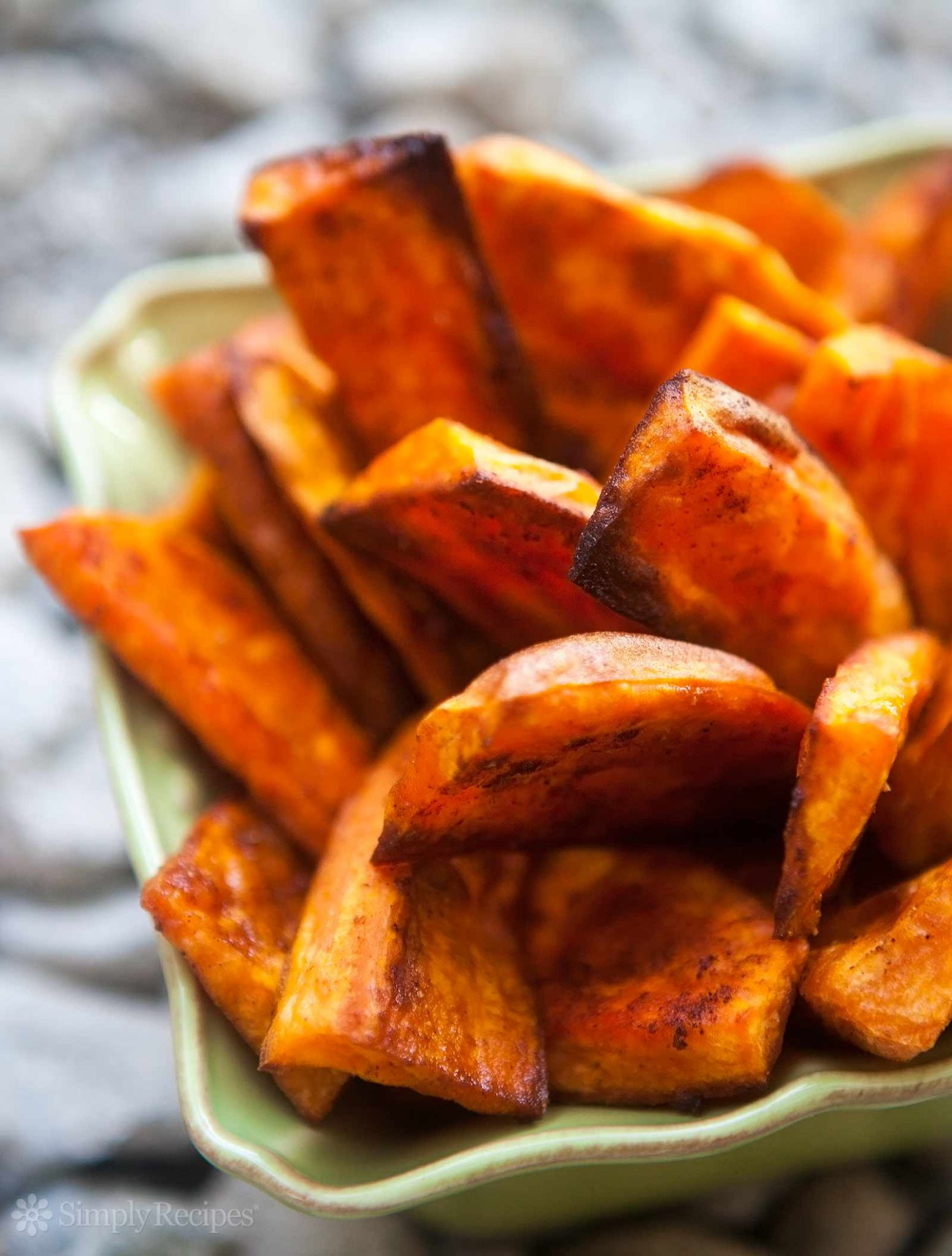 Oven Baked Sweet Potato Fries - Simple Yam Recipes Baked