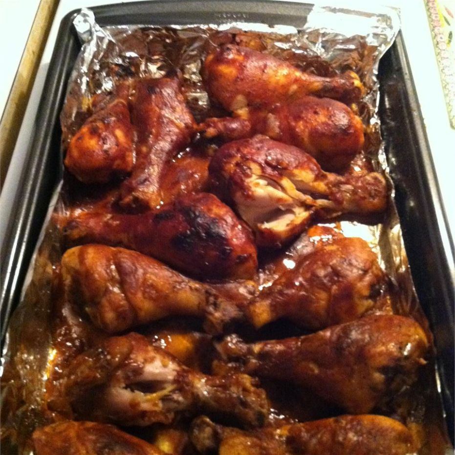 Oven BBQ Chicken Drumsticks