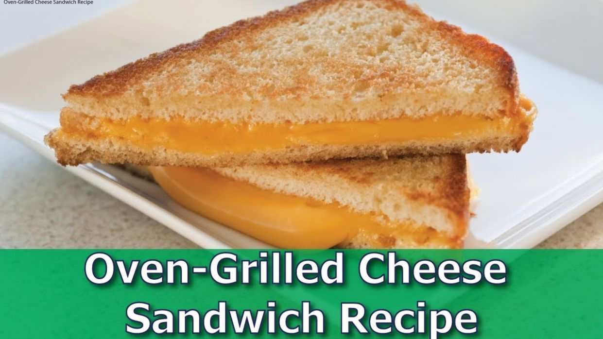 Oven-Grilled Cheese Sandwich Recipe