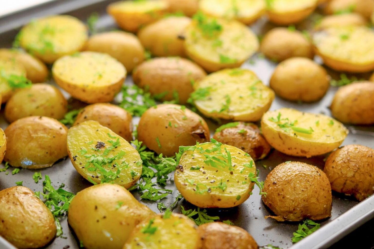 Oven-Roasted Baby Potatoes - Potato Recipes Easy In Oven